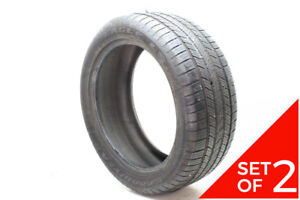 Set Of 2 Used 275 45r20 Goodyear Eagle Ls 2 110h 7 5 8 5 32