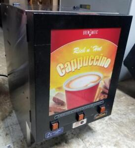 Cappuccino hot Chocolate Machine 3 Heads Brewmatic 5003530 Brew matic
