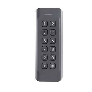 Ul Listed Professional Mifare Card Wiegand Reader With Keypad