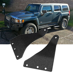 For 07 18 Jeep Wrangler Jk Highlift Jack Hood Mount Parts Tailgate Bracket Black