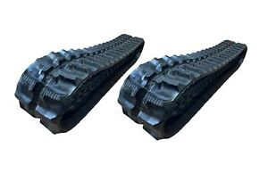 2pc Rubber Track 230x72x43 Takeuchi Tb 10 12 Mini Excavator
