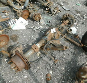 2005 2007 Ford F250sd F350sd Pickup Rear Axle Assembly 3 73 Ratio 117k Miles Oem