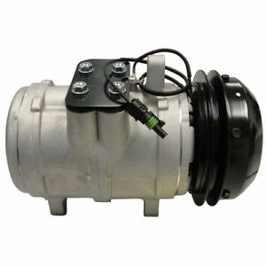 New Ac Compressor For John Deere 2855n 2955 3050 3055 3155 3255 3350
