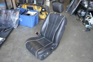 2011 Jaguar Xjl Left Driver Front Seat Chair Black Leather Minor Rip
