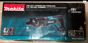 New Makita 18 Volt Lxt 7 8 Sds plus Rotary Hammer Drill Xrh04z Tool only
