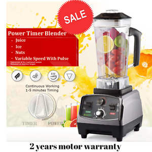 Bpa Free 2200w Blender Mixer Heavy Duty Automatic Fruit Juicer Food Processor