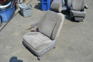 2005 Toyota Sienna Left Driver Front Seat Chair Gray Cloth Power