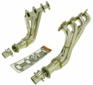 Obx Mid Tube Header For 1965 1976 Ford F100 F150 5 9l 6 4l 360 390 2wd