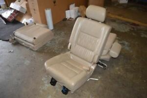 1998 1999 2000 2001 2002 Toyota Land Cruiser Right Rear Seat 2nd Row Tan Leather