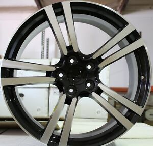 22 Inch Rims Fit Porsche Cayenne Turbo 2 Base Turbo S Gts Machined Wheels