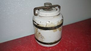 Antique Vintage Thermos Ice Water Cooler Thermos Pottery And Ceramic