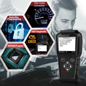 Obdprog Mt601 Obd2 Car Key Programming Mileage Correction Eeprom Diagnostic Tool