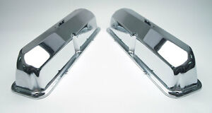 New Ford 427 Chrome Pent Roof Valve Covers Shelby Cobra