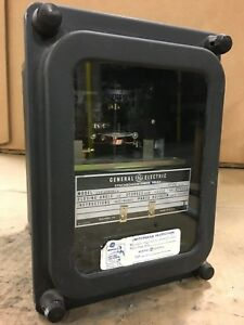 Ge Synchronism check Relay 12ijs52d1a 115 V 60 Cycles Closing Angle 20