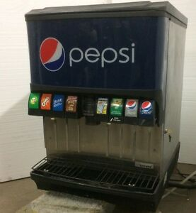 Manitowoc Commercial Soda Pop Dispenser 8 Valve