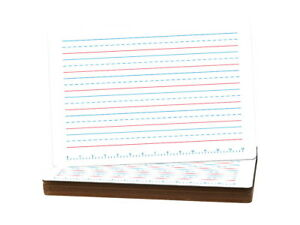 Flipside Primary Handwriting Dry Erase Board 11 X 16 Inch Pack Of 12