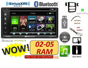 02 03 04 05 Dodge Ram Cd dvd Bluetooth Usb Apple Carplay Stereo Radio Combo
