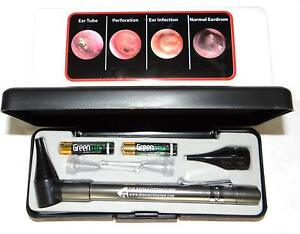 Otoscope Dr Mom Led Stainless Pocket Lighted Ear Curettes For Medical Students