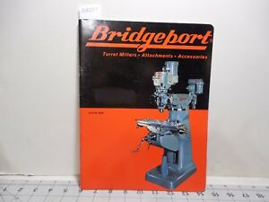 Bridgeport Turret Millers Attachments Accessories Catalog Br69 Ma237