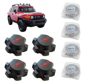 Toyota Fj Cruiser Trd Center Cap Set For 16 Trail Teams Wheel Ptr20 35081