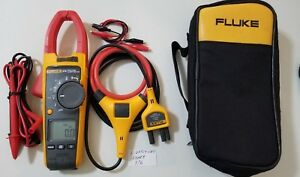 Nice Used Fluke 376 True Rms Ac dc Clamp Meter Iflex And More Great Tp 239369
