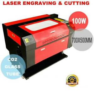 100w Co2 Usb Laser Cutter Engraver Engraving Machine 500x700mm W Cnc Rotay Axis