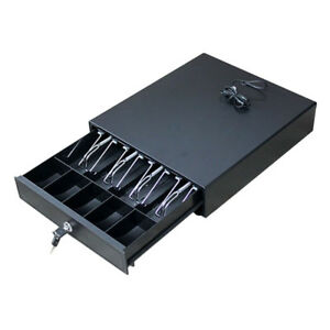 New 4bill 5coin Cash Register Drawer Box Work Compatible Epson Tray Pos Printers