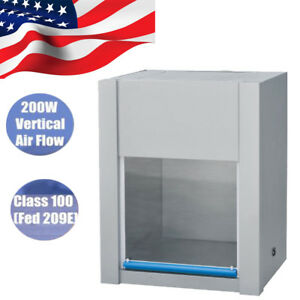 Vertical Ventilation Laminar Flow Hood Air Flow Clean Bench Workstation 2 5day