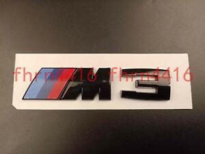 Gloss Black Bmw M3 High Quality New M3 3 Series Sticker Badge Emblem 55x20mm