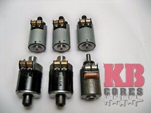 6pcs Oem 722 6 Solenoids For Mercedes Benz Chrysle Dodge Jeep 5 Speed Automatic
