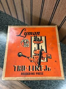 Vintage Lyman Tru Line Jr Reloading Press With Original Box