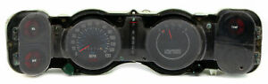 1970 78 Chevrolet Camaro Single Dash Cluster Oem Speed Instrument Gauge 06497236