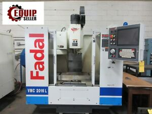 2004 Fadal Vmc 2016l Cnc Vertical Mill Machining Center Free Loading