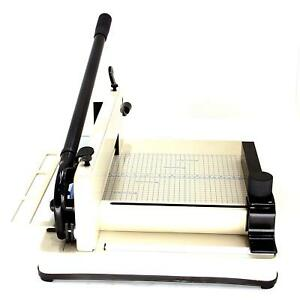Hfs r Heavy Duty Guillotine Paper Cutter 12 Commercial Steel A3 a4 Trimmer