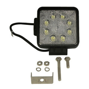 New 4 Square Led Flood Light Slim Line 1 3 4 Deep Work Light