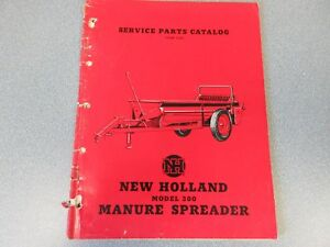 5 New Holland 300 325 346 365 368 Manure Spreader 130 Bale Booster Manuals