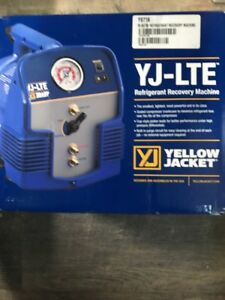 Ritchie Yellow Jacket 95730 Yj lte Refrigerant Recovery System free Shipping