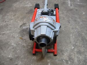 Ridgid K 60sp Sectional Drain Cleaning Machine Pipe Sewer Snake