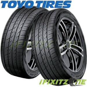2 Toyo Versado Noir 235 45r17 97w Luxury Touring All Season Performance Tires