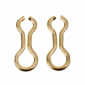 100pcs Size S  M  L Brass Sinker Eyes - Eyelets for Lead Weight Molds