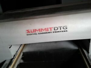 Summitdtg Summit Dtg 520 Direct To Garment Tshirt Printer Needs Parts Refurbish