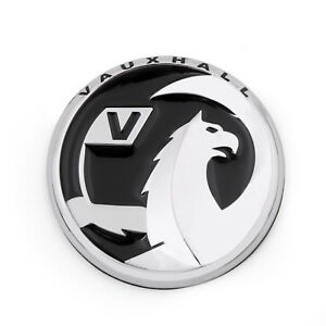 55mm 3d Metal Badge Emblem Decal For Vauxhall Opel Holden Gm Astra Corsa Us B6