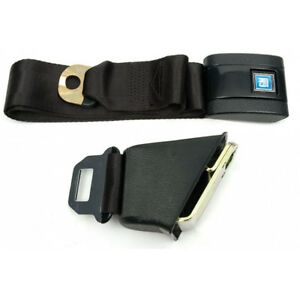 Chevelle Seat Belt Lap With Retractor For Cars With Standard Bucket Seat