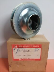 Itt Bell Gossett B g 118630 was Pw1z 1235 Steel Impeller New In Box Nos