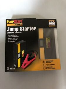 Ever Start Maxx Jump Started With Surge Protector New In Box