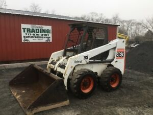 1999 Bobcat 863 Skid Steer Loader