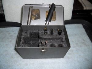 Metal Storage Case For Bridgeport 2 Boring Head With Some Accessories