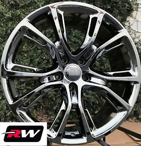 Dodge Durango Wheels 20 Inch Pvd Dark Chrome 20x9 Spider Monkey Oe Replica Rims