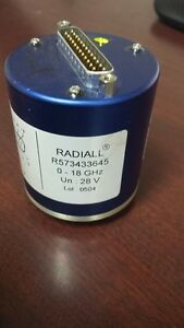 Radiall R573433645 0 18 Ghz Coaxial Switch