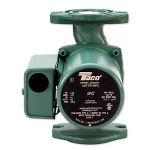 Taco 007 f5 8ifc Cast Iron Cartridge Circulator Pump Ifc 1 25 Hp Rotated Flange
